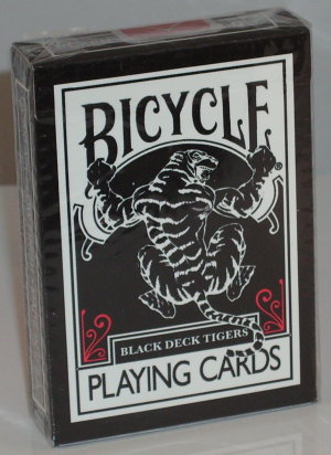 Black Tiger Deck (Red Pips)