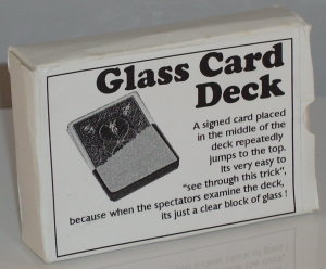 Glass (Crystal) Deck