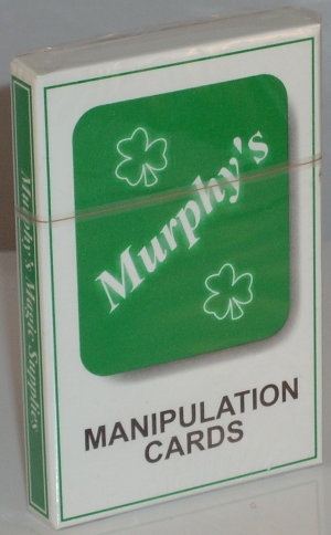 Murphy's Manipulation Cards White Back - Trevor Duffy