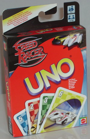 Uno - Speed Racer Edition