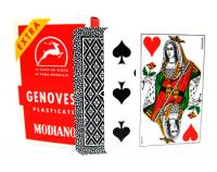 >Deck of Genovesi Italian Regional Playing Cards