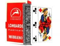 >Deck of Lombarde Italian Regional Playing Cards