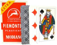 >Deck of Piemontesi Italian Regional Playing Cards