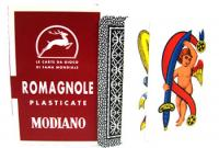 >Deck of Romagnole Italian Regional Playing Cards