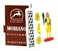 >Deck of Siciliane 96/38 Italian Regional Playing Cards