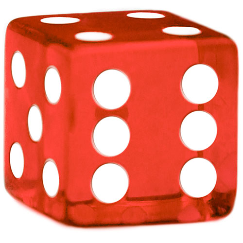 Red Dice - 19 mm