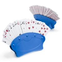 >Set of Two Hands-Free Playing Card Holders