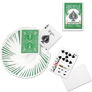 >Bicycle Deck (808) Poker Green