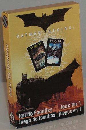 >Batman Begins Happy Families (Belgium Import)