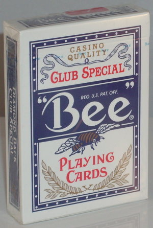 Bee Casino - Poker size Jumbo index