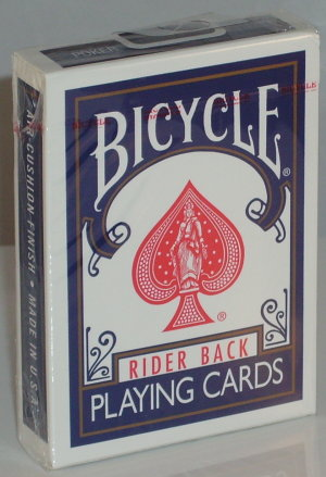 >Bicycle Deck (808) Poker Blue