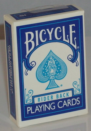 >Bicycle Deck Mini Blue