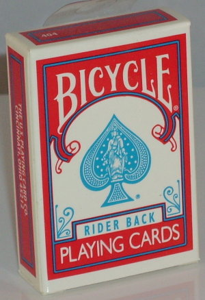 >Bicycle Deck Mini Red