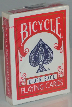 >Bicycle Deck (808) Poker Red