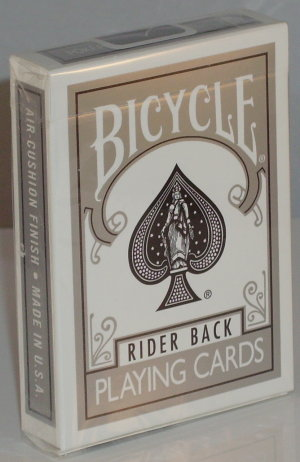 >Bicycle Deck (808) Poker Silver