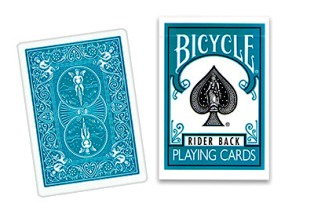 >Bicycle Deck (808) Poker Turquoise