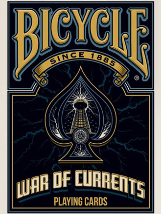 >Bicycle War of Currents Playing Cards
