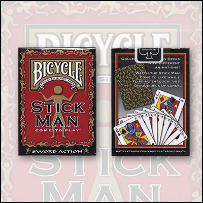 >Bicycle Stick Man