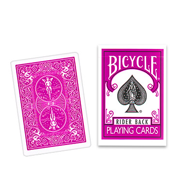 >Bicycle Deck (808) Poker Pink (Fuchsia)