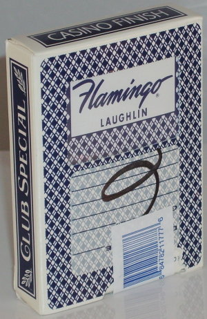 Flamingo Used Casino Deck (Cut Corners)