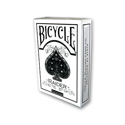 >Bicycle Raider White