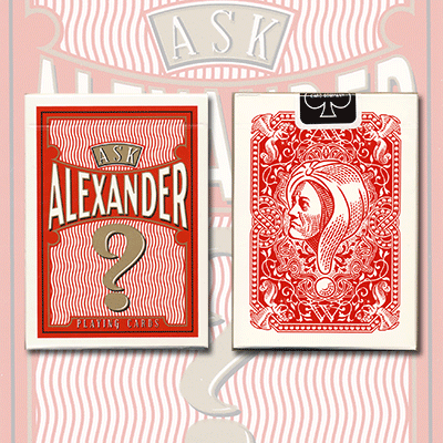 >Ask Alexander Playing Cards - Limited Edition by Conjuring Arts