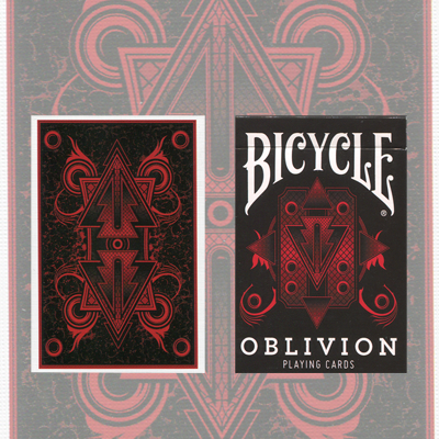 >1st Run Bicycle Oblivion Deck (Red)