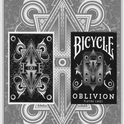>1st Run Bicycle Oblivion Deck (White)