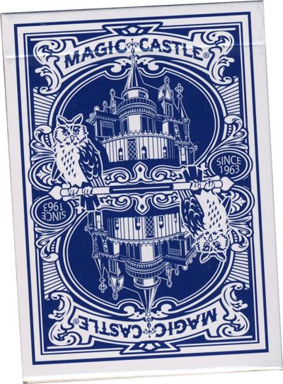 >Magic Castle Deck Blue