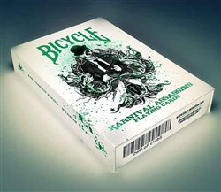 >Karnival Assassin Playing Cards (limited edition Green)